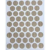 Caja x 2500 Tapatornillos Adhesivos de 14 mm Auwora