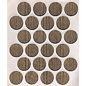 Caja x 1200 Tapatornillos Adhesivos de 20 mm Humo