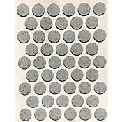 Caja x 2500 Tapatornillos Adhesivos de 14 mm Grizzo