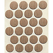 Caja x 1200 Tapatornillos Adhesivos de 20 mm Capuchino