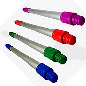 Kit x 4 Cabos en Aluminio 50 cm Repuesto Limpiavidrios