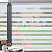 Sheer Elegance Misty Blanco A La Medida Ancho Entre 240.5-250  cm Alto Entre  210.5-225 cm