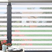 Sheer Elegance Style Blanco A La Medida Ancho Entre 240.5-260  cm Alto Entre  210.5-225 cm