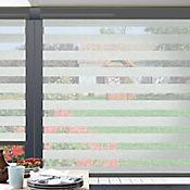 Sheer Elegance Trendy Gris Shadow A La Medida Ancho Entre 210.5-230  cm Alto Entre  150.5-165 cm