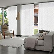 Cortina Panel Oriental Graphics Shag A La Medida Ancho Entre 100.5-120  cm Alto Entre  80-100 cm