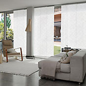 Cortina Panel Oriental Graphics Shag A La Medida Ancho Entre 200.5-220  cm Alto Entre  80-100 cm