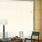 Persiana Horizontal De Aluminio 25  mm Color Algodón A La Medida Ancho Entre 30-100  cm Alto Entre  160.5-180 cm