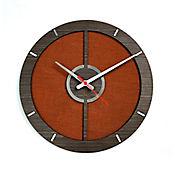 Reloj de Pared 010 34x34 cm Madera Garnica - Naranja