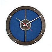 Reloj de Pared 010 34x34 cm Madera Garnica - Azul