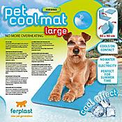 Manta Refrescante para Perro 90 x 60 cm Azul