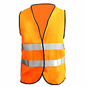 Chaleco Naranja Con Reflectivo 4.5cm