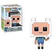Funko Pop Tv Adventure Time/Minecraft - Finn