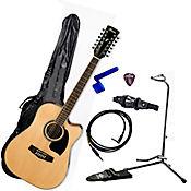 Combo Guitarra Pf1512ece Electroacústica + Base 6 Ítem