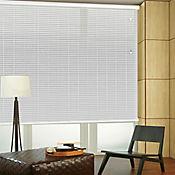 Persiana Horizontal De Aluminio 50 mm Color Natural A La Medida Ancho Entre 120.5-130  cm Alto Entre  475.5-500 cm