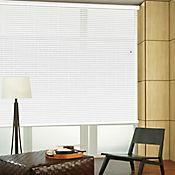 Persiana Horizontal De Aluminio 50 mm Color Blanco Mt A La Medida Ancho Entre 330.5-365  cm Alto Entre  130.5-145 cm