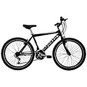 Bicicleta Todoterreno R26 Doble Pared 18Vel Negro