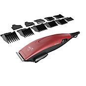 Máquina Clipper Gm562 24 Piezas 110v Rojo