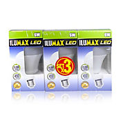 Set x 3 Bombillos 6W Dimerizable Luz Blanca