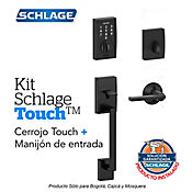 Kit Touch Century Negro + Manijón + Instalación