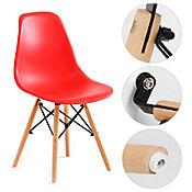Silla Eames Adulto 42x50x82 Rojo