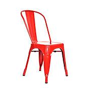 Silla Turca 35x34x85 Rojo