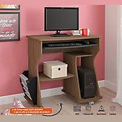 Mesa para Computadora 160 - 88x46x78 Almendra/Negro