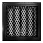 Tapa Regular Aluminio Perforada Palanca 20X20 Negro