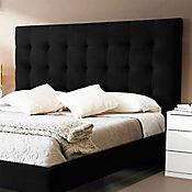 Combo Lujo Luxury Doble Colchón + Espaldar Negro