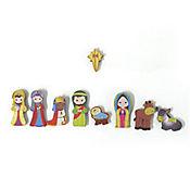 Pesebre Imán 9 Figuras