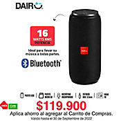 Parlante Portátil Recargable 16W Rms Bluetooth FM