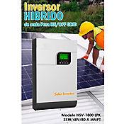 Inversor Solar Híbrido de Onda Pura On/Off Grid