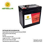 Baterías Solares de Gel 12V 200Amp