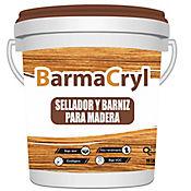 Barmacryl Barniz para Madera 1/4 Galon Cafe