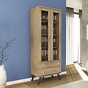 Mueble para Bar 2 Puertas 2 Cajones 70x182 Natural