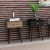 Mesa Lateral Retro 40x60 Negro