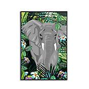 Cuadro Elefante 40x60 cm
