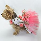 Vestido Gaby para Perro Talla XL Coral