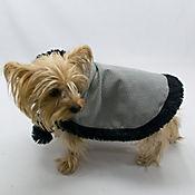 Capa Elegante para Perro Talla M Negro