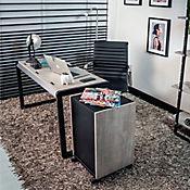 Escritorio Bako 126x65x70 Cemento/Negro