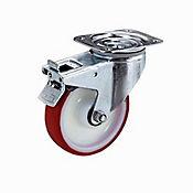 Rueda Industrial Giratoria Freno Alpha125mm/5 Pulg