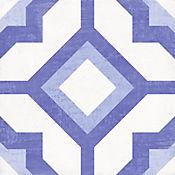 Piso Pared Cuadrado Kaled 19.8x19.8cm Azul Caja 1.098m2