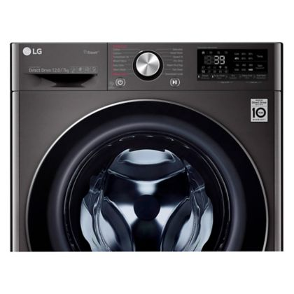 set lavadora secadora 2 en 1 12 kg twinwash twd12 negro