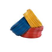 Alambre #8 1 metro amarillo Conectores y Cables