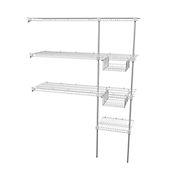 Súper Closet Rejilla Ancho Hasta 3x2x0.4 mt Blanco
