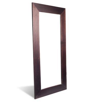 Espejo Madera Cristal 59 X 119 Cm Usmespejoshomecentercomco - Espejos-de-pared-economicos