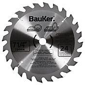 Disco para madera 7-1/4 pulgada 24 dientes  B725A24