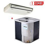 Combo Aire Acondicionado Piso Techo 60000BTU + Unidad Exterior Aire Acondicionado 60000BTU MOV60