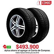 Combo x 2 Llanta 195/55 Rin 15 Direction Sport 85H