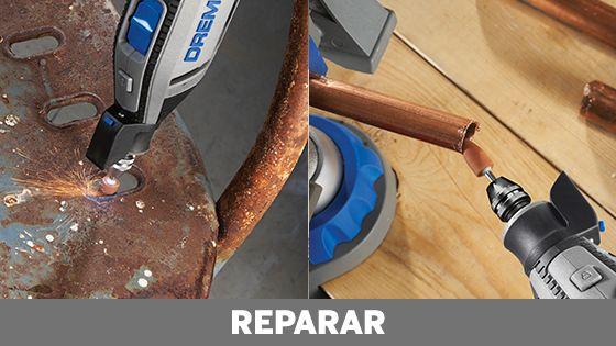 Reparar con dremel