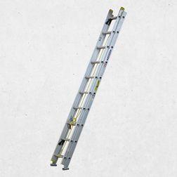 Escaleras Telescópicas, Extension y Pared